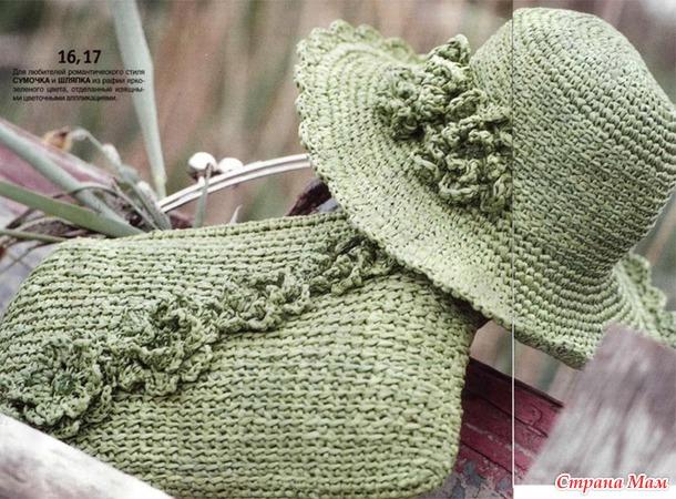 . Летние шляпы крючком