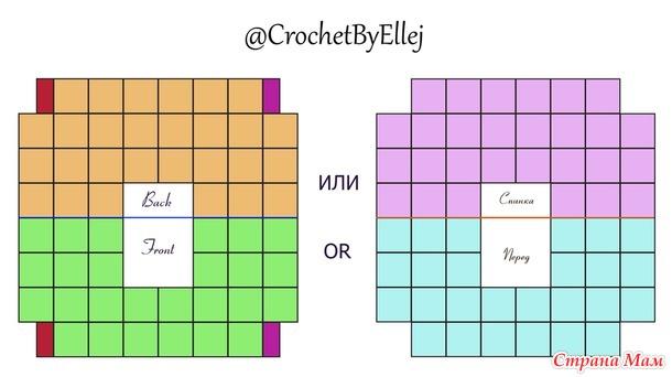 Безотрывное вязание квадратных мотивов Ажурное Лето • Мастер-класс в ролике