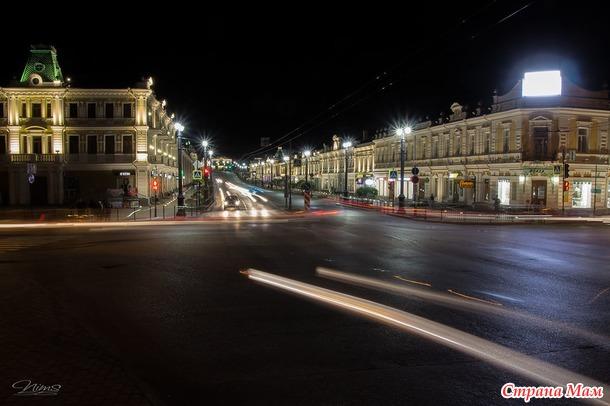 Красивые фото города. Ночь, день, паводок и немного меня...