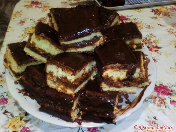 Пироженки бисквитные.