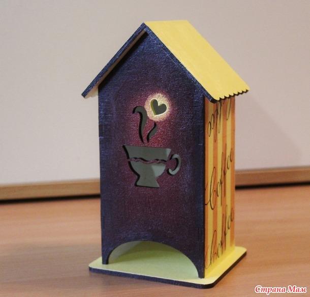 Чайные домики-подарки для воспитателей.