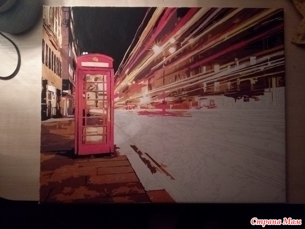 """""""Ночной Лондон""""."""