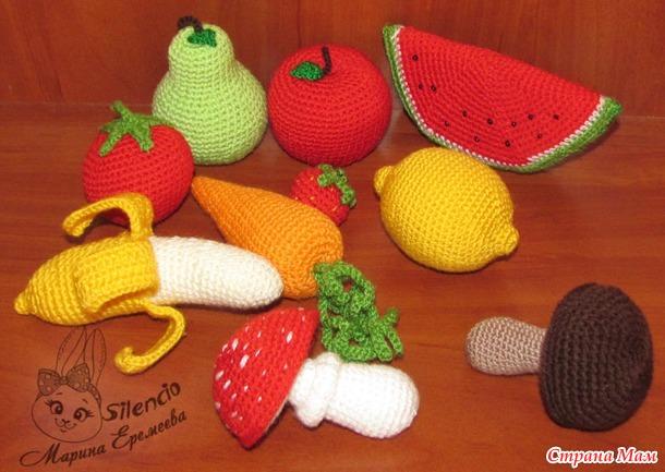 Овощи, фрукты и другая еда