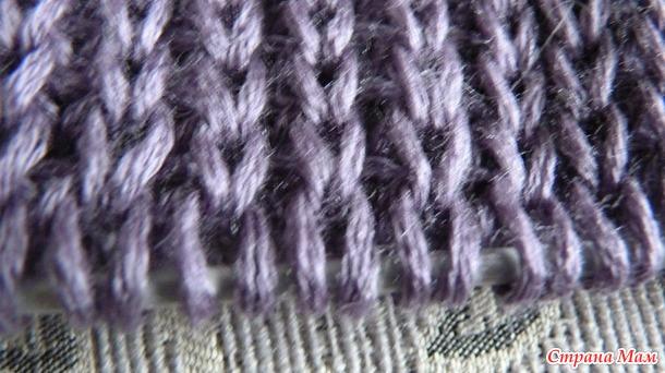 Как укоротить вязаное изделие