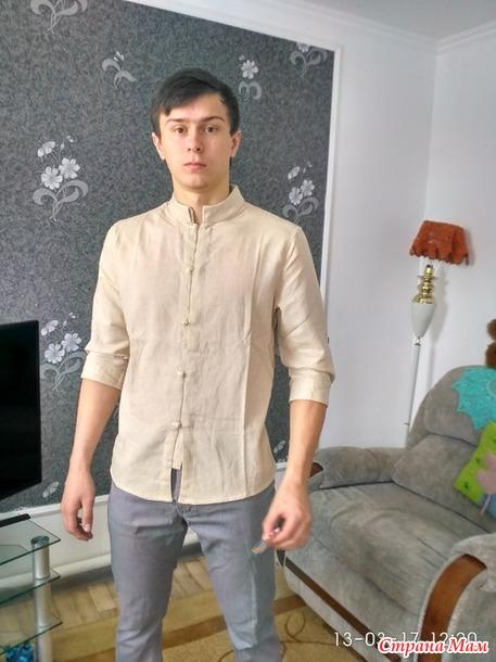 Рубашка мужская+