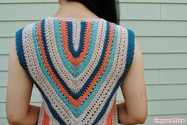 Кружевные посиделки № 16 Платье Seaside Dress от Moon Eldridge