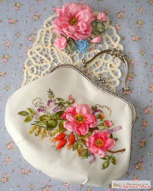 """Моя новая сумочка """"Нарядная весна""""."""