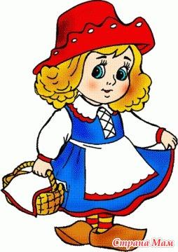 Картинка красная шапочка на шкафчики