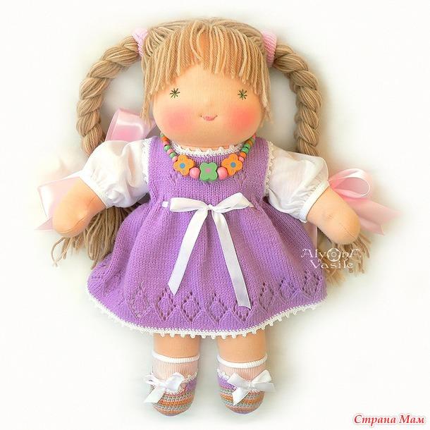 Вальдорфские куклы Алёны Василь