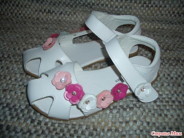 Обувь на лето для девочек+