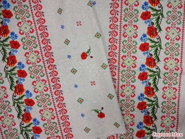 Большой пристрой тканей  Белорусского текстильного центра (лен, хлопок) от miss Hope