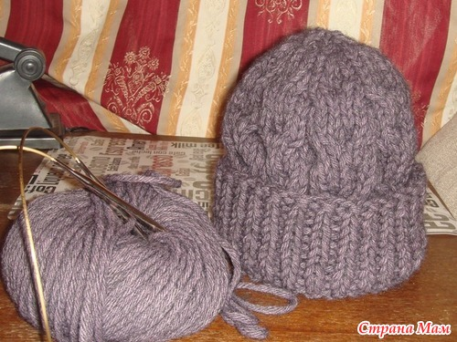 """Голосование! Марафон """"Вяжем круглый год"""". Ноябрь: теплые шапочки для всей семьи спицами"""