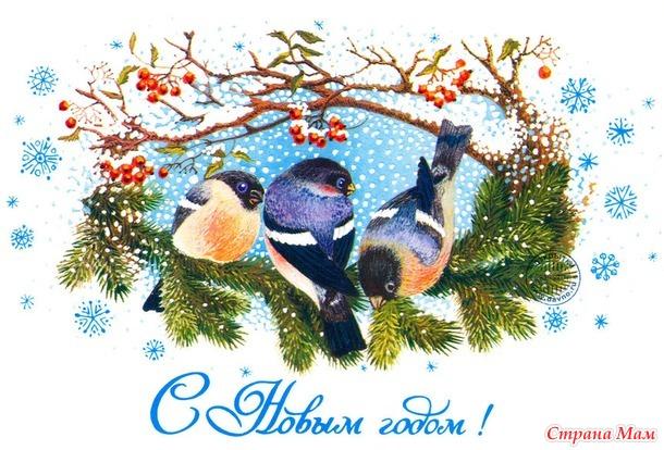 Опрос на обмен открытками к Новому году!!!