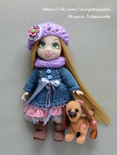 . Kукла Анюта, хозяйка Бусинки.