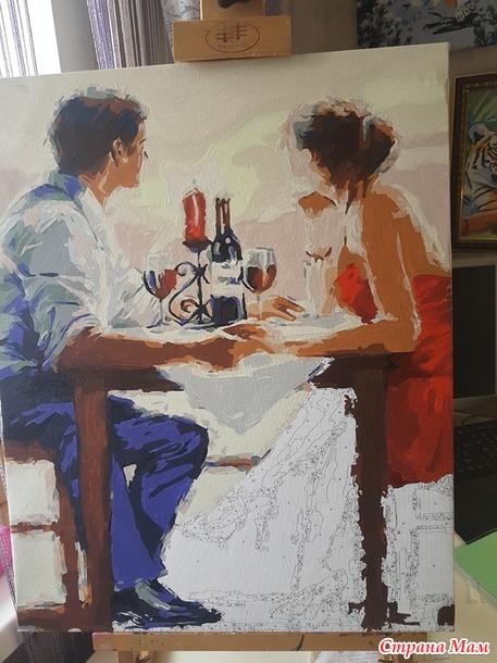 Двое за столиком