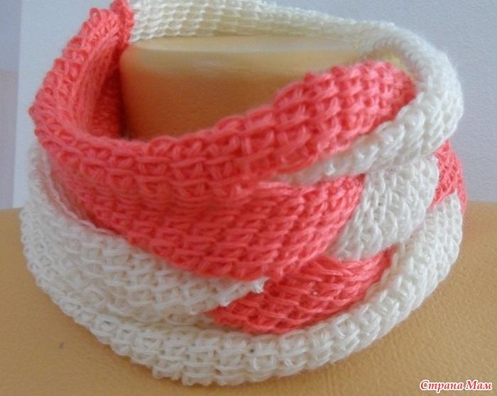 тунисское вязание красивое