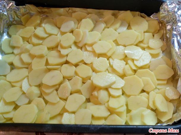 """Картофельная запеканка """"Сытный ужин"""""""