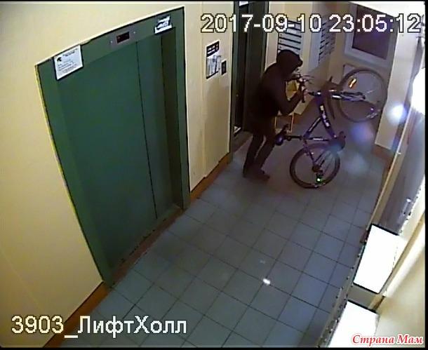 Питер! Спасите! ПОМОГИТЕ найти велосипед!!!
