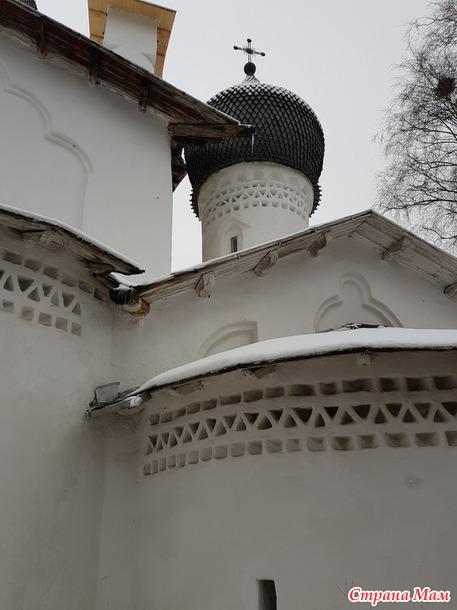 Особенности псковских церквей