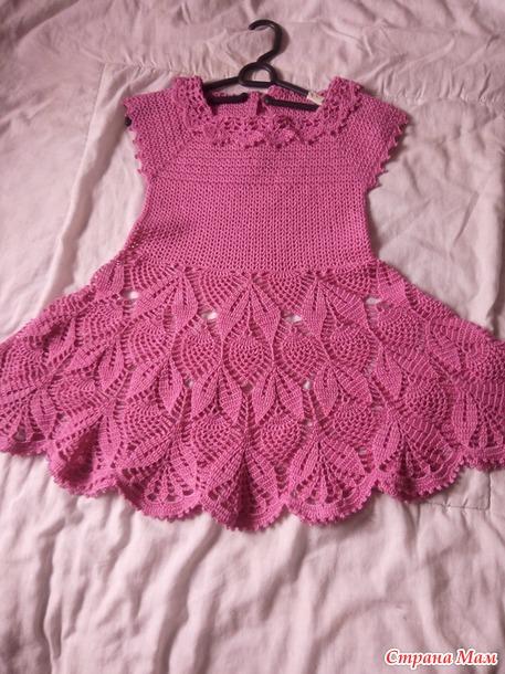 летнее платье для дочки