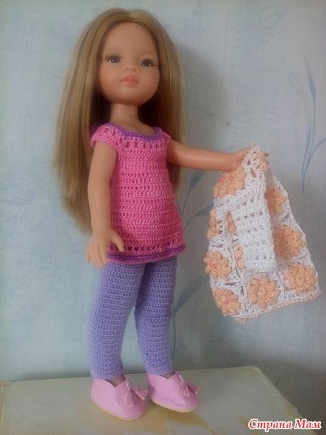 Одеваю куколок Паола Рейна.
