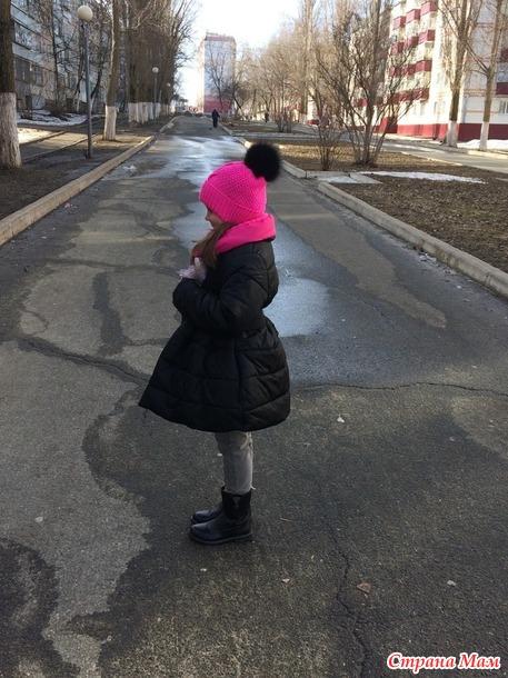 Куртка - платье на девочку+