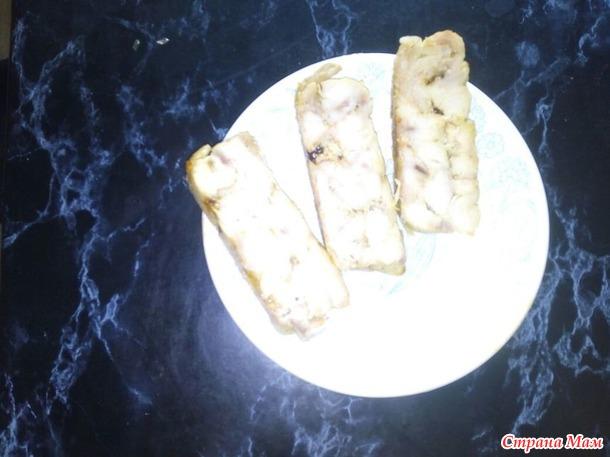 Колбаса из курицы вареная и запеченая.