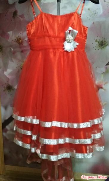 c5ae695c49f Нарядные платья на девочек-подростков. Б у. Россия - Страна Мам
