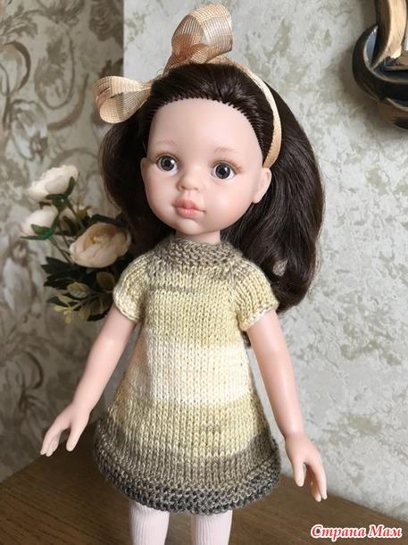 Моё первое платье для Кэрол.