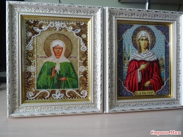 Бисерные иконы.