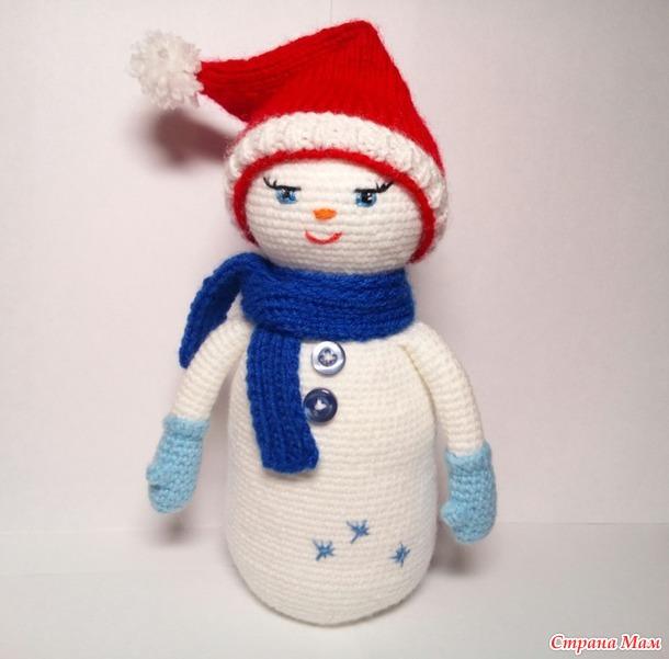 Снеговичок. Описание.