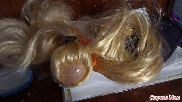 Результат перепрошивки волос у Сигуте
