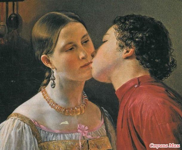 Поцелуй: что на самом деле значит это слово