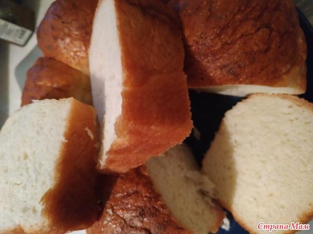 Домашний хлеб на кефире