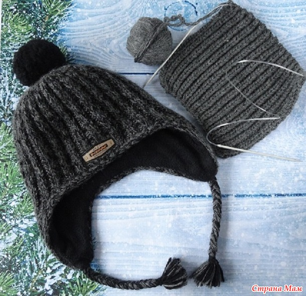 . Зимние шапки для подростка