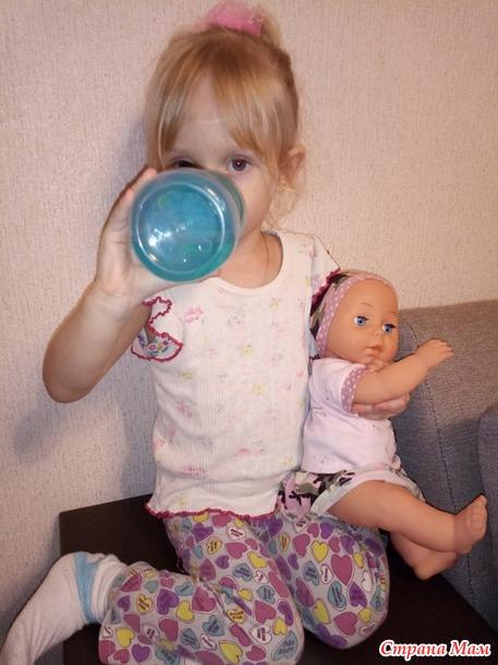 Любимца моей младшей дочери снова в обновках!