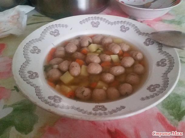 Челлендж. ДЕНЬ -27 ый. Винегрет и суп с фрикадельками
