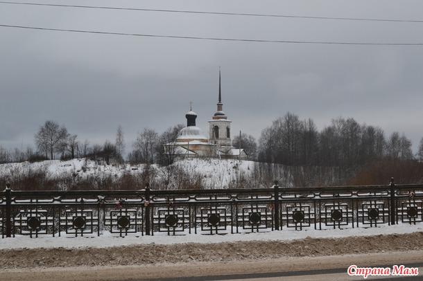 Новогодняя сказка. Путешествие в Великий Устюг к Деду Морозу. Часть 1.