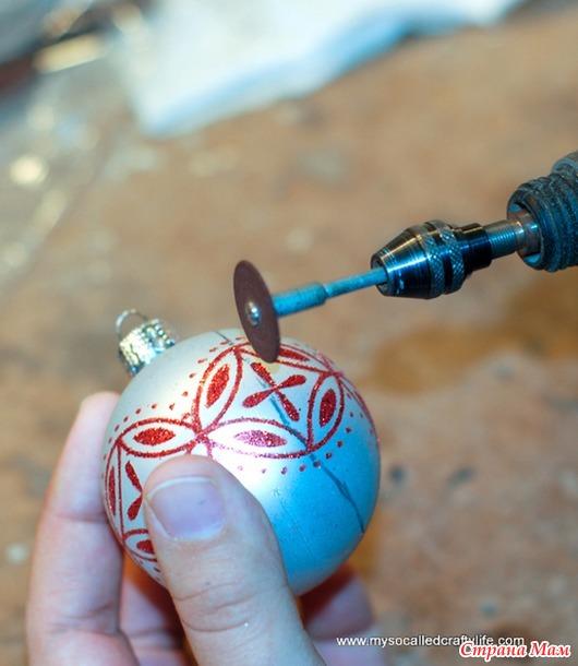 Новогоднии идеи 2 - шары на ёлку