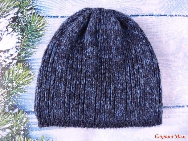 . Двусторонняя мужская шапка (продолжение темы)