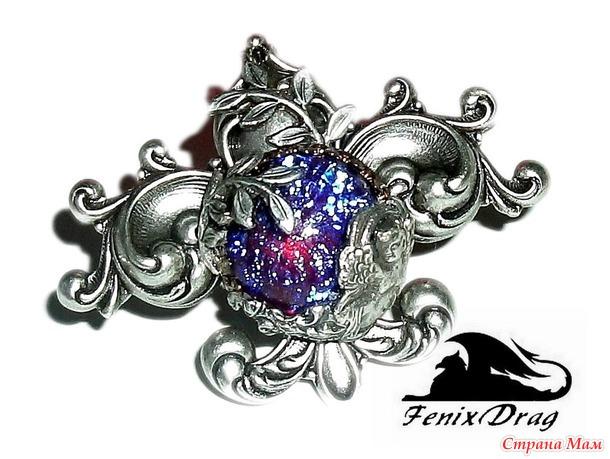 Сказочные кольца в Стимпанк и Винтаж стилях ручной работы