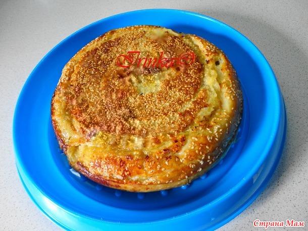 Сытный пирог в мультиварке