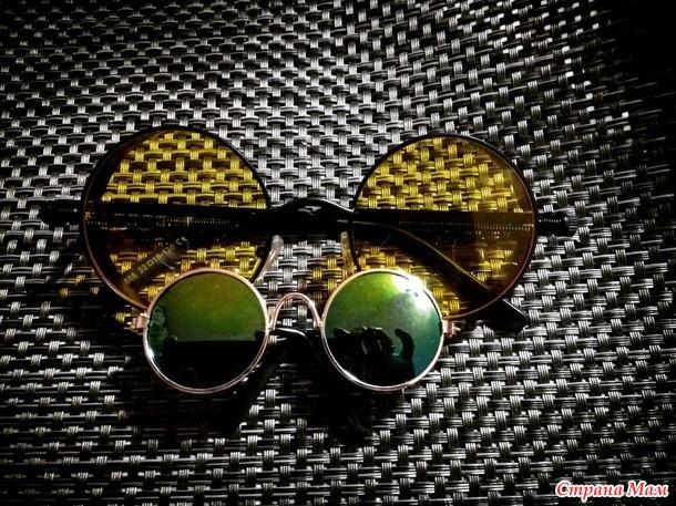Шикарные очки для брутального мальчика+