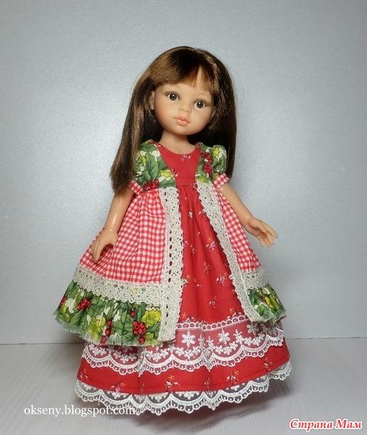 Итоги 2017 года. Мои платья для кукол Paola Reina