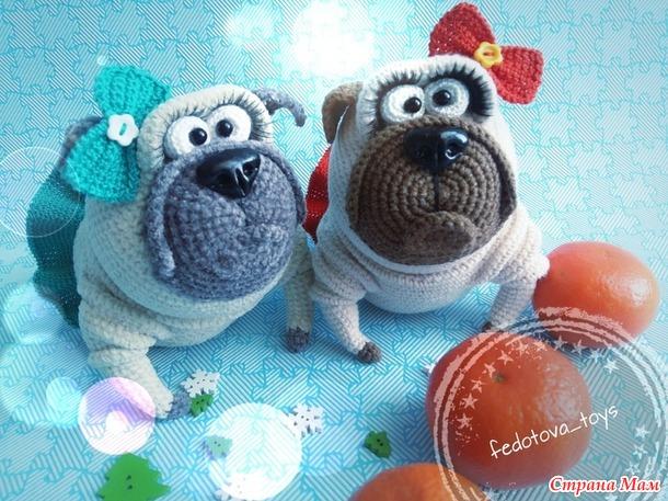 Собаки-подарки на Новый год!