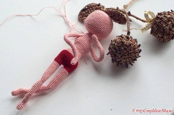 Каркасная кукла крючком Амиша. Он-лайн -авантюра