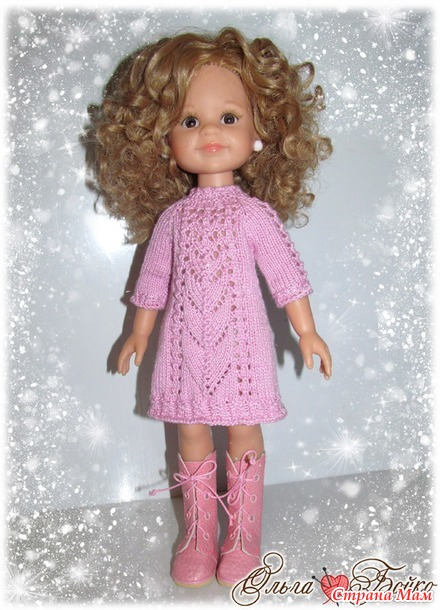 Новые платья для любимых куколок