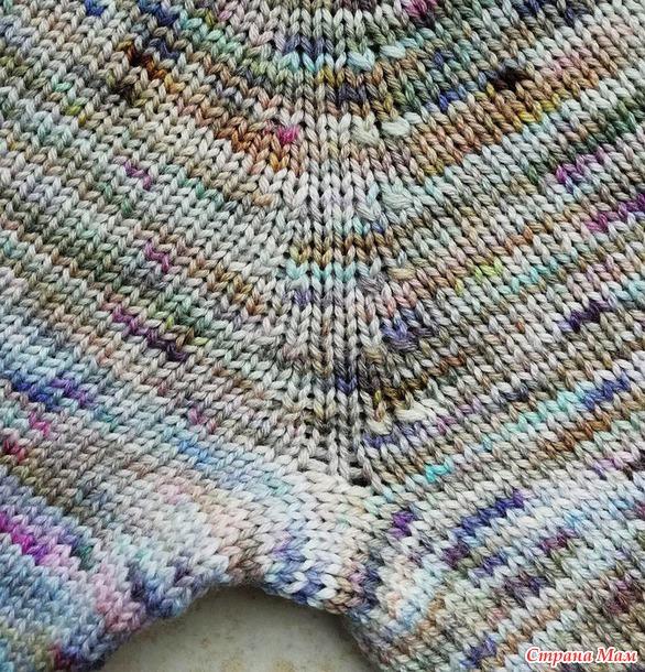 . Почему свитер-реглан связаный вручную плохо сидит?