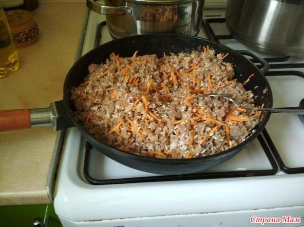 Перец фаршированный мясом и рисом. ДОПОЛНИЛА.