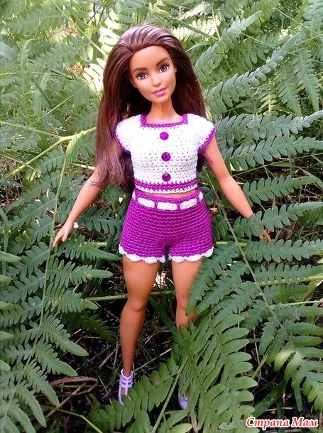 Одежда для любимых Барби.